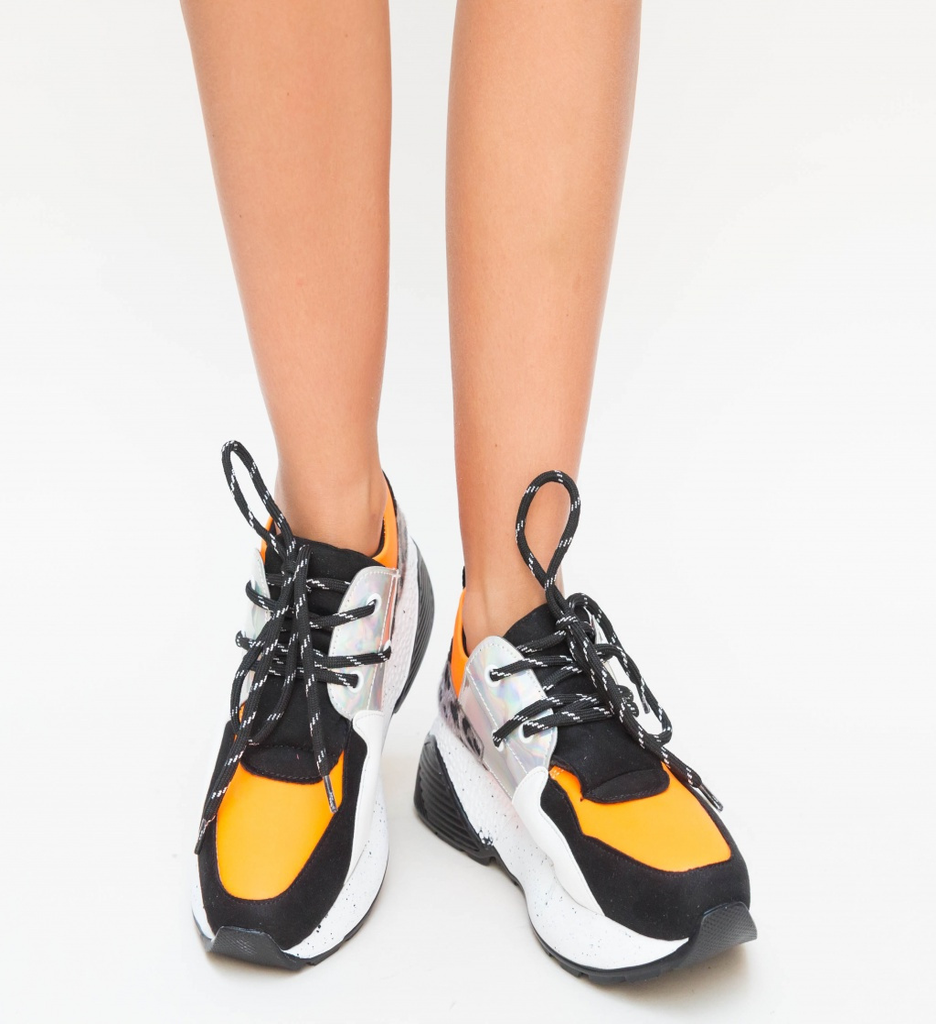 Pantofi Sport Bran Portocalii