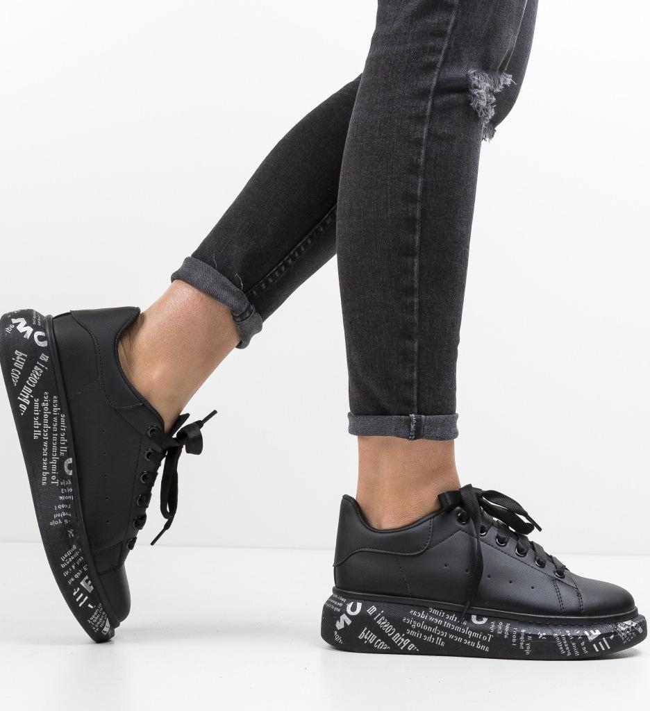 Pantofi Sport Enjoy Negri
