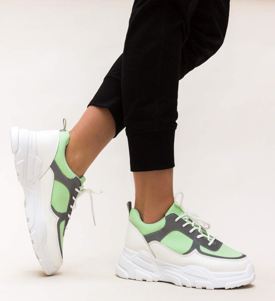 Pantofi Sport Kros Verzi 2