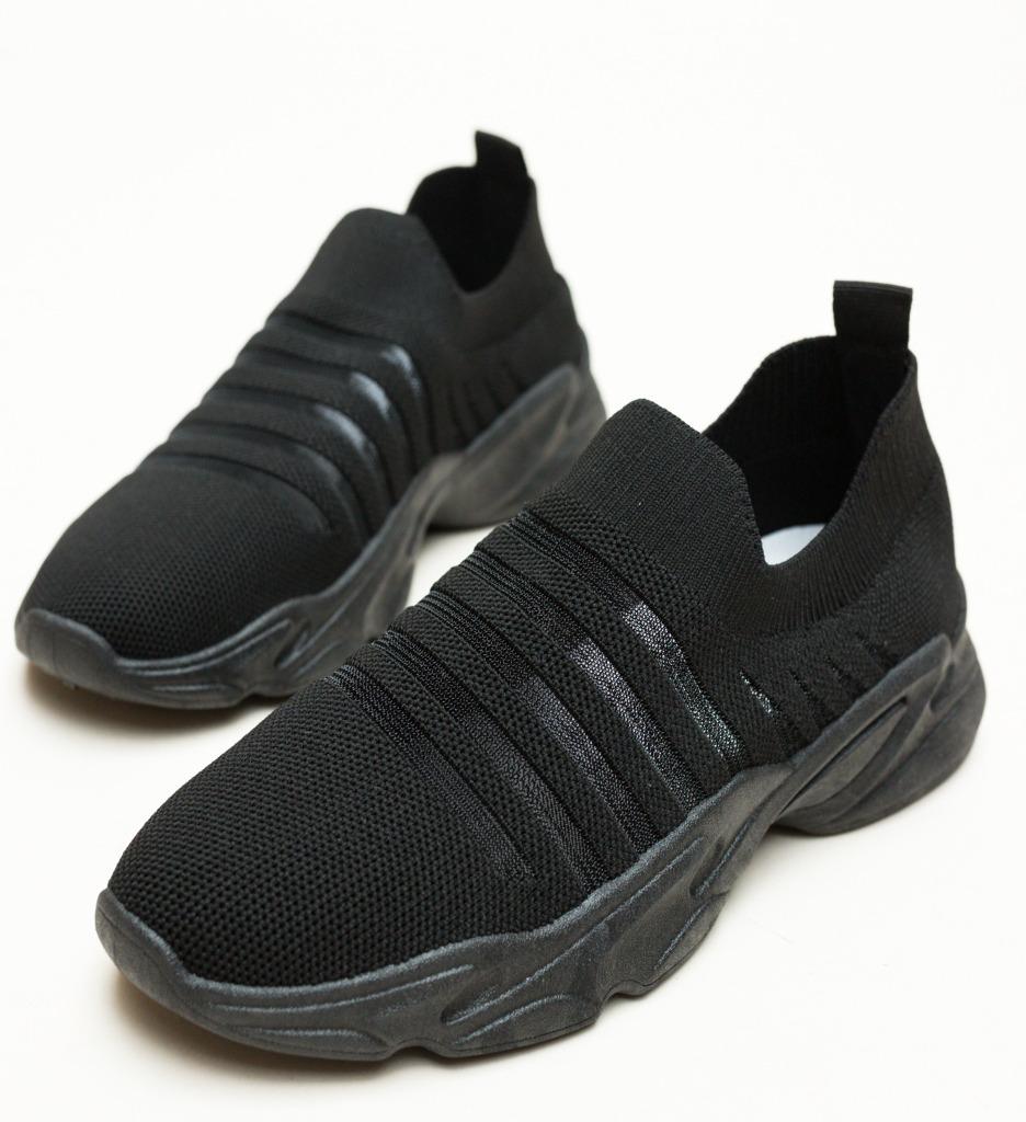 Pantofi Sport Luner Negri 2 imagine