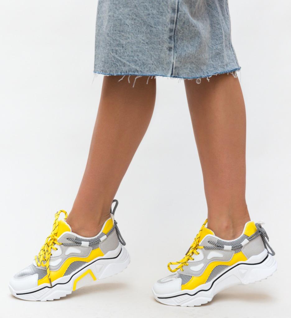Pantofi Sport Mesaro Galbeni