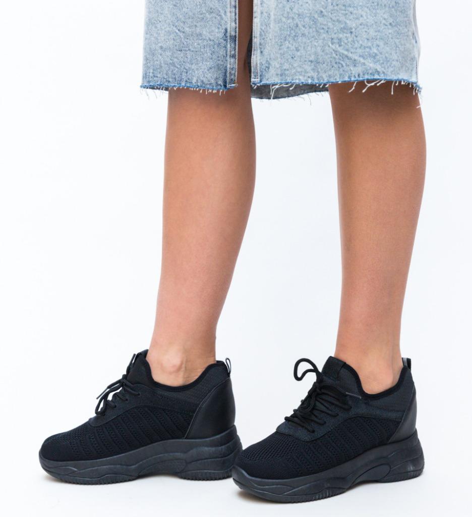 Pantofi Sport Nomade Negri