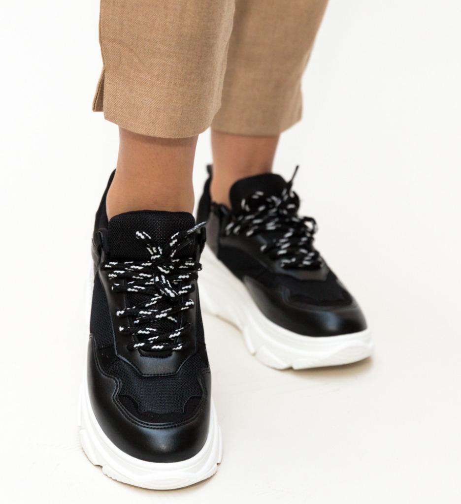 Pantofi Sport Pangolier Negri