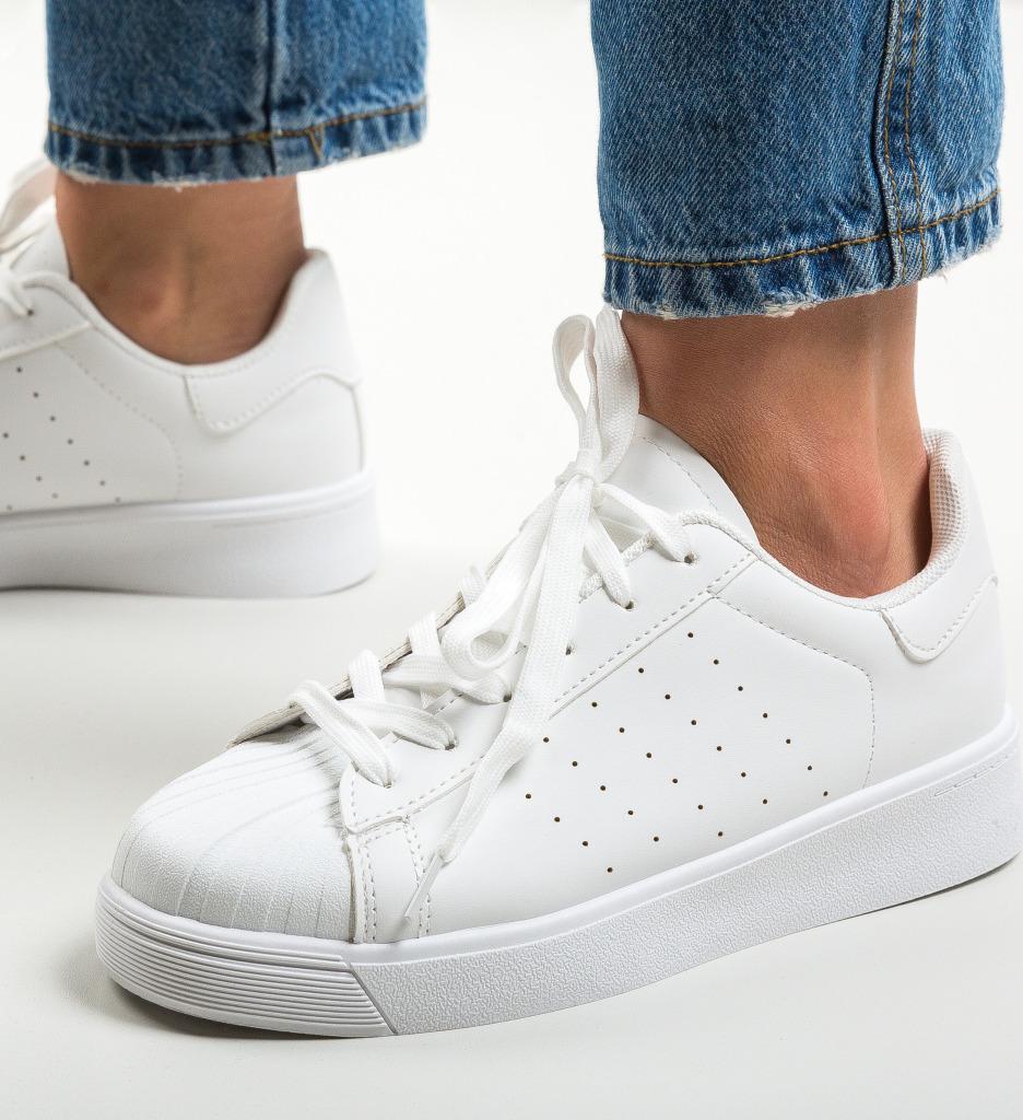 Pantofi Sport Prentice Albi