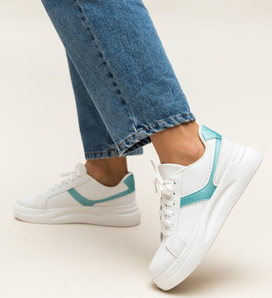 Pantofi Sport Stokes Albastri imagine 2021