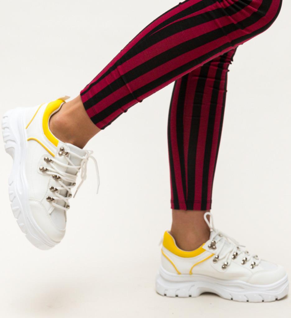 Pantofi Sport Tariq Galbeni