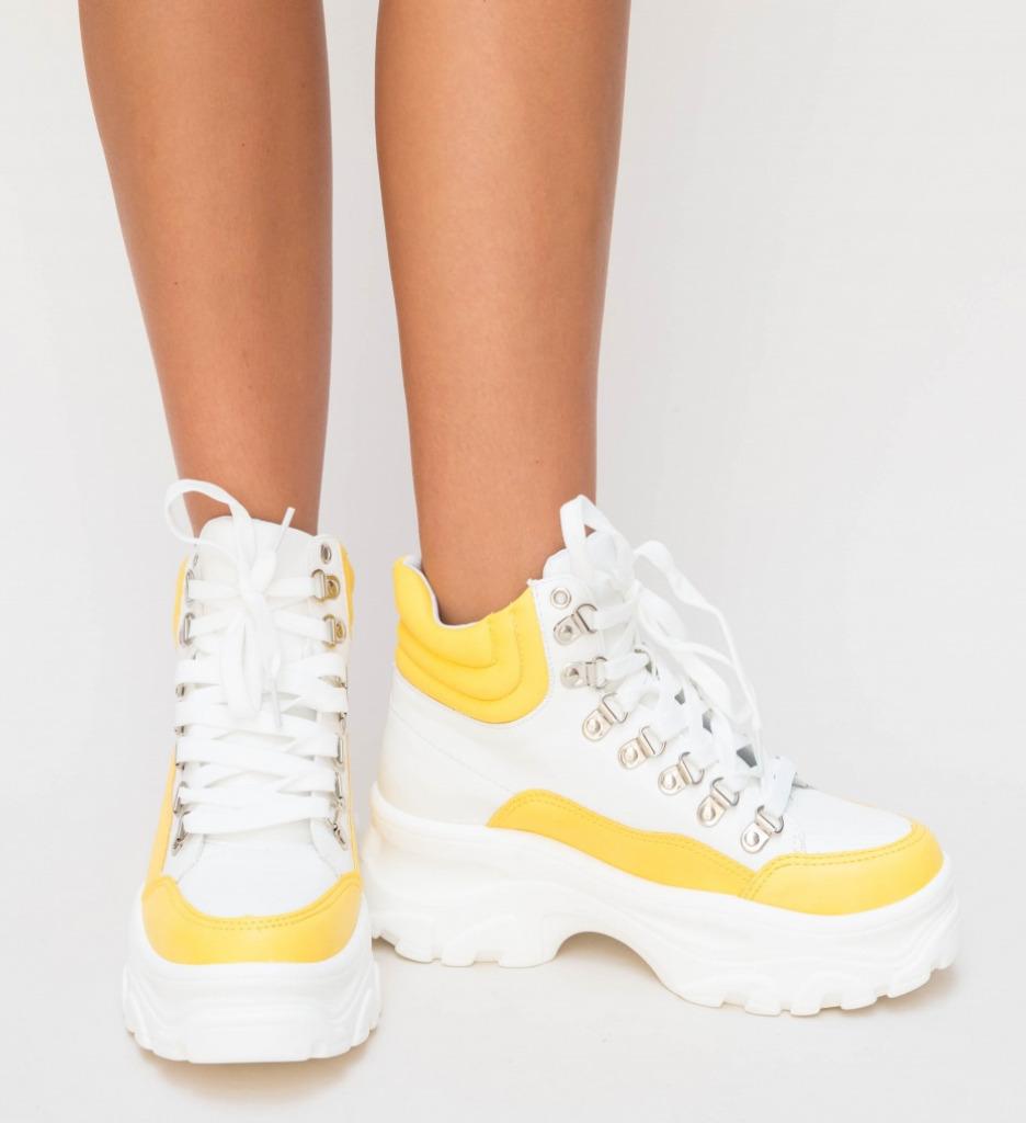 Pantofi Sport Tibi Galbeni