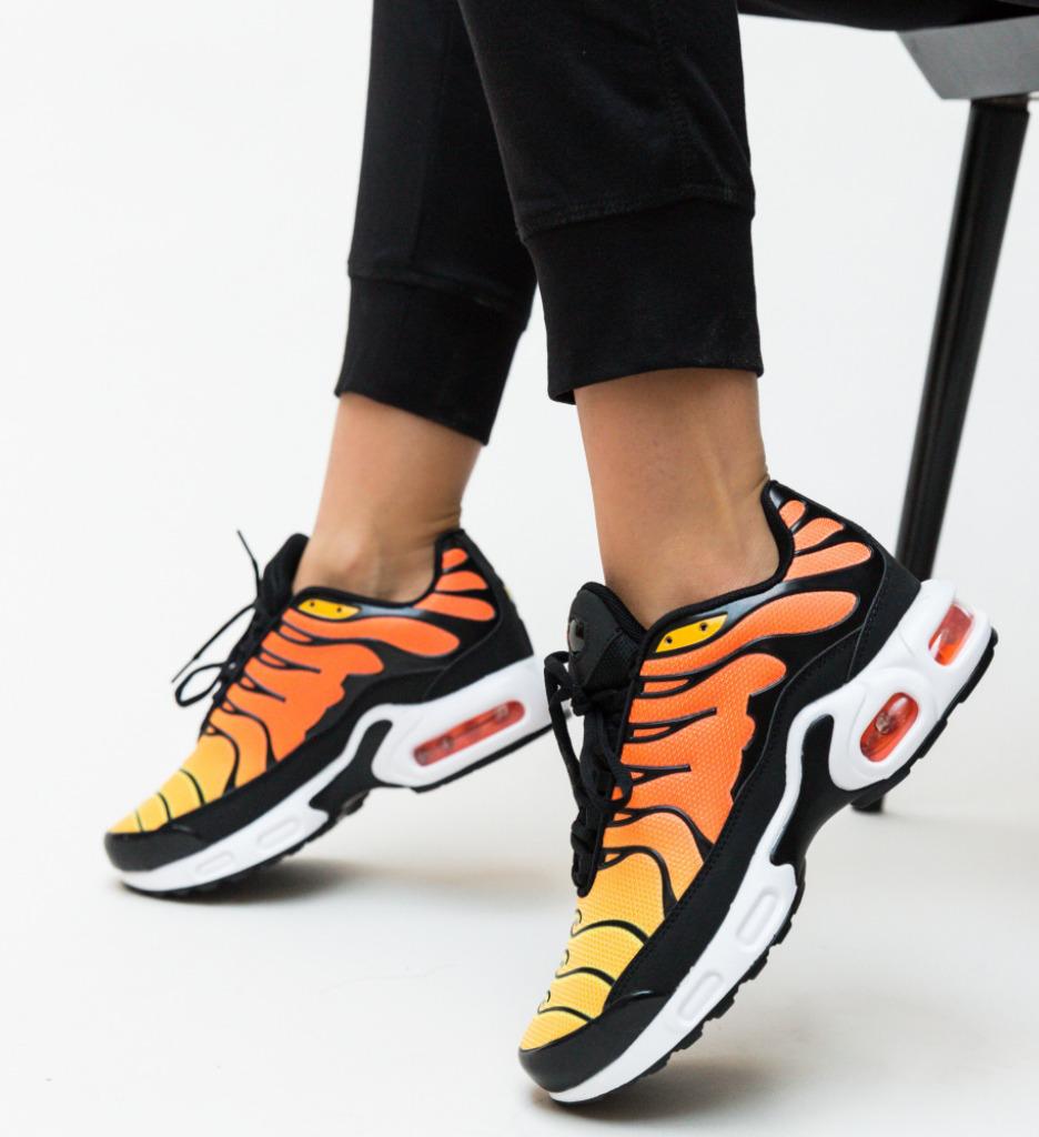Pantofi Sport Verson Portocali imagine