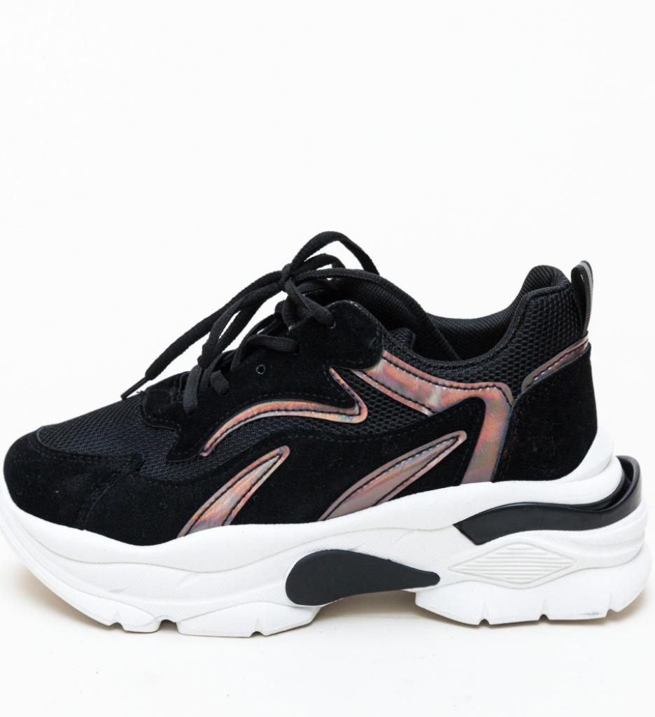 Pantofi Sport Warmer Negri