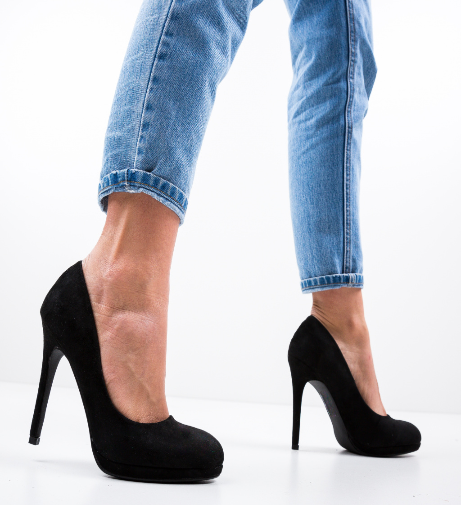 Pantofi Zamor Negri