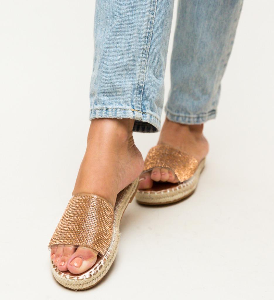 Papuci Amie Aurii