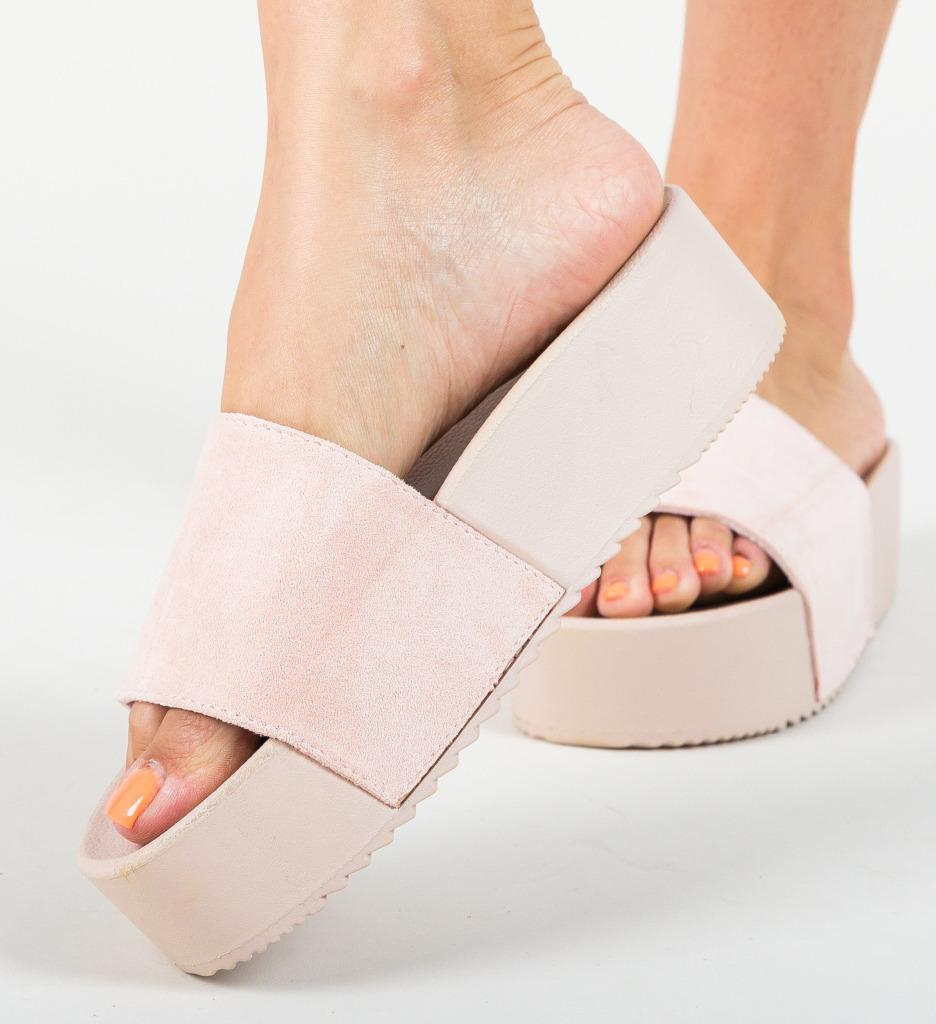 Papuci Escar Roz