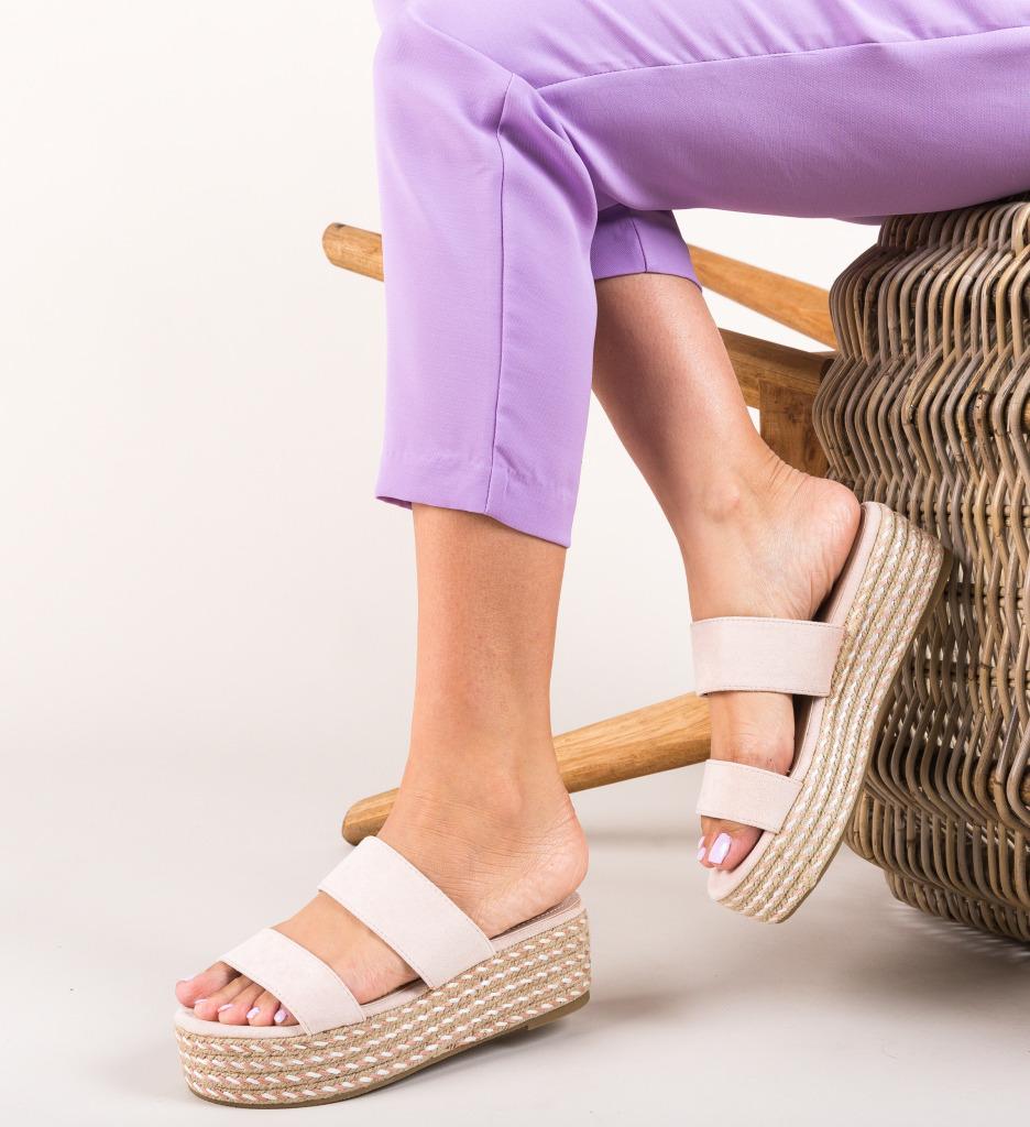 Papuci Liya Roz imagine 2021