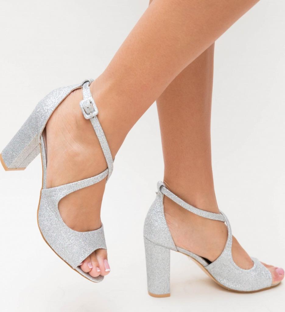 Sandale Bemec Argintii