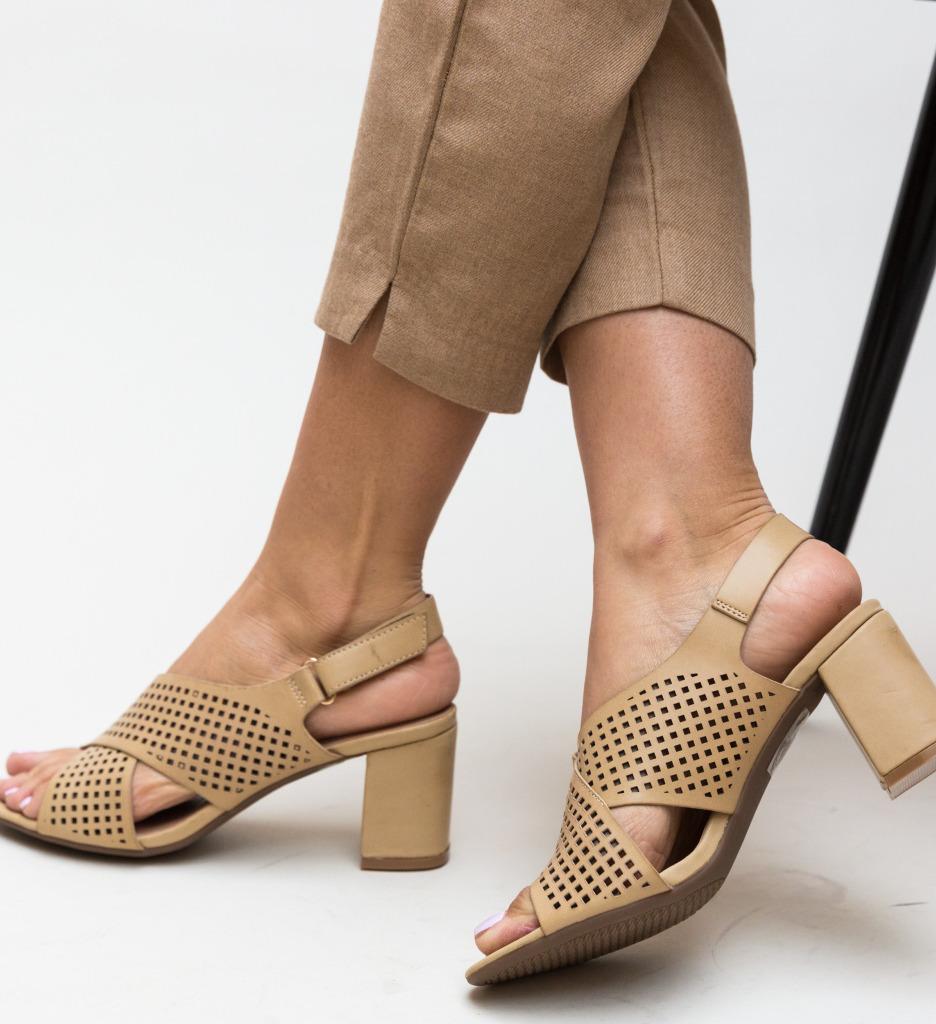 Sandale Bibanic Bej