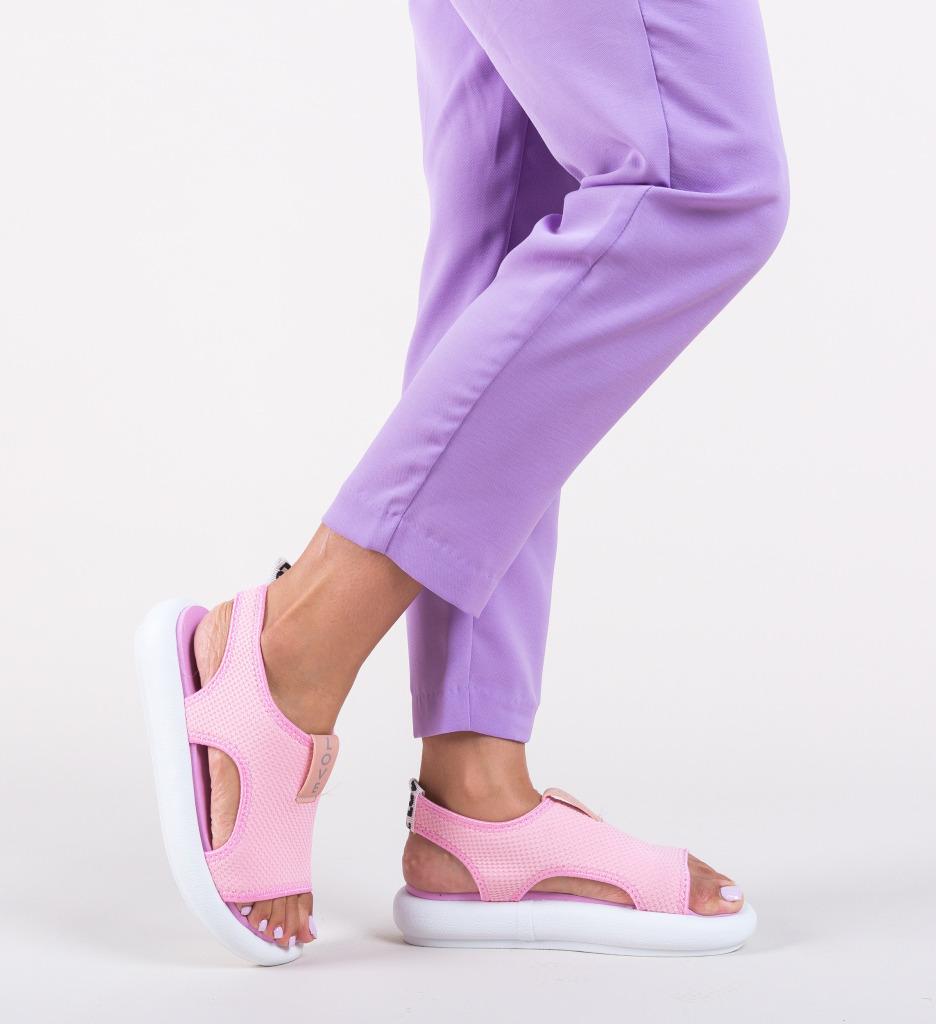 Sandale Blugan Roz
