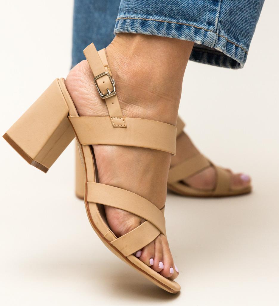 Sandale Carpatien Bej