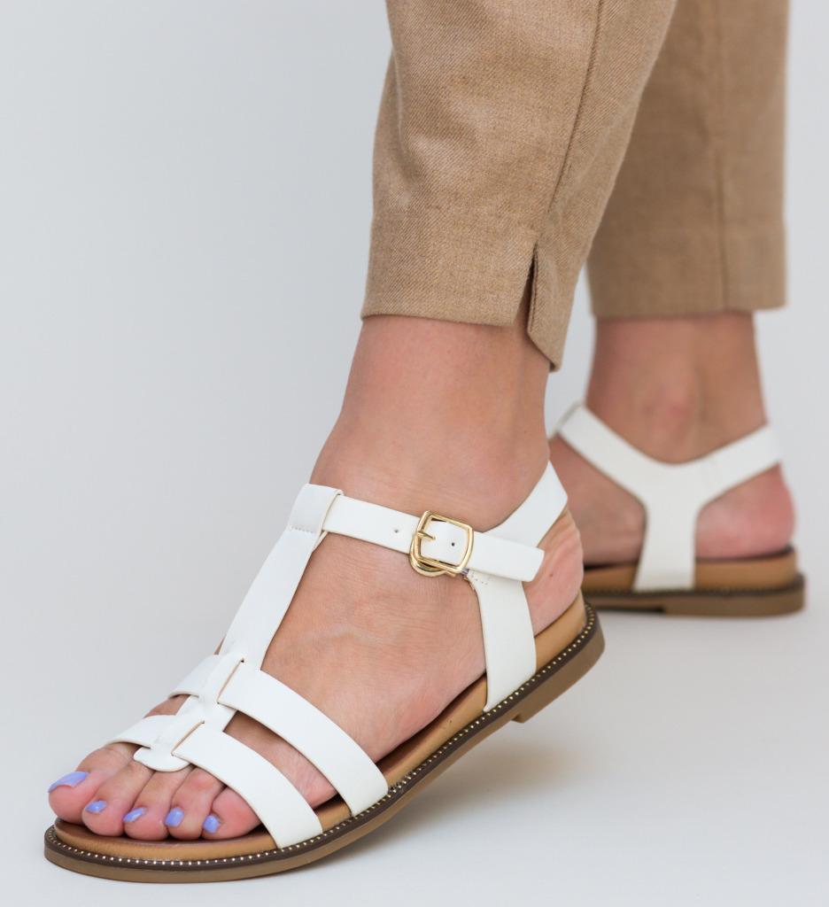 Sandale Cutur Albe