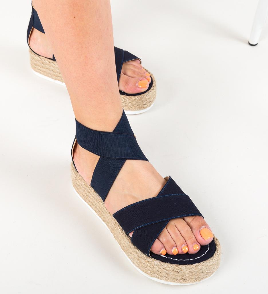 Sandale Hermod Bleumarin