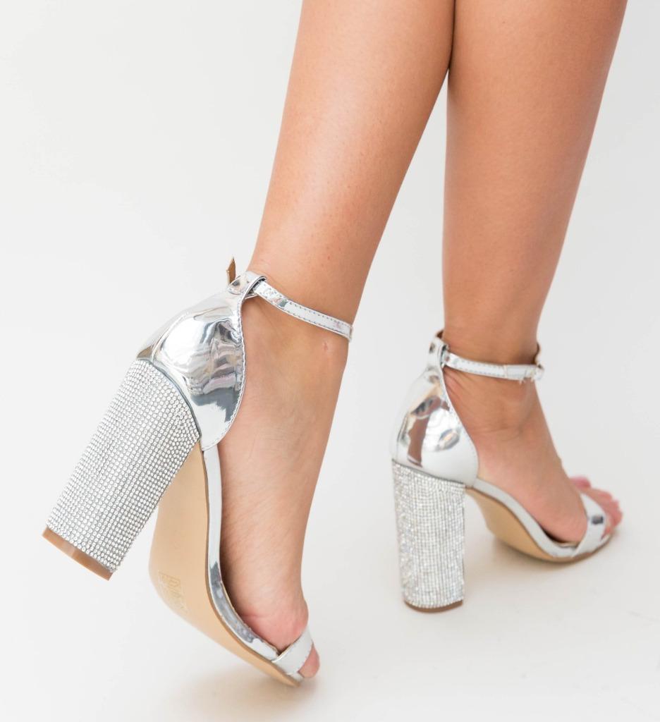 Sandale Lilas Argintii