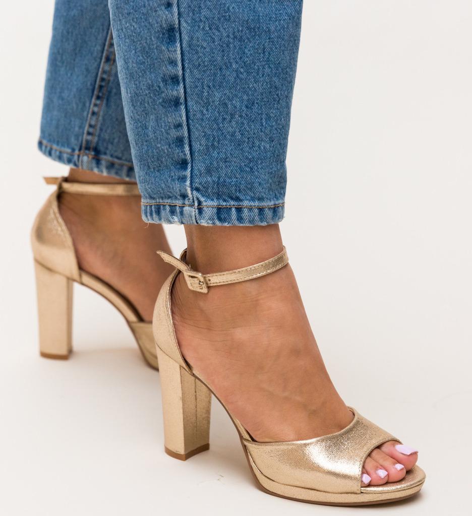 Sandale Nicolan Aurii