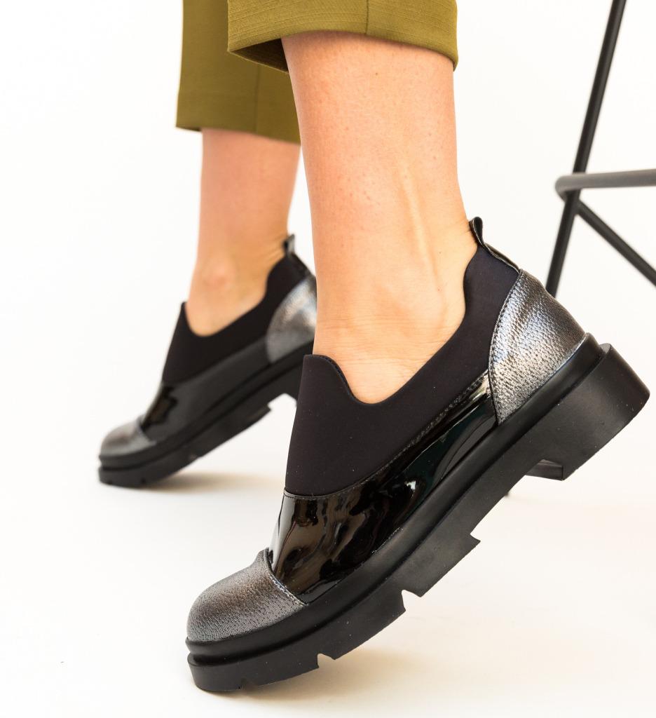 Pantofi Casual Alzhai Gri