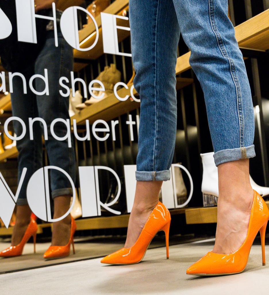 Pantofi Ameen Portocalii