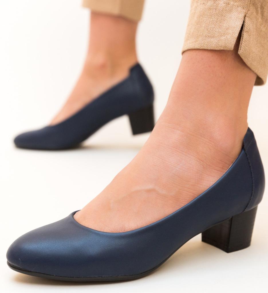 Pantofi Amrit Bleumarin