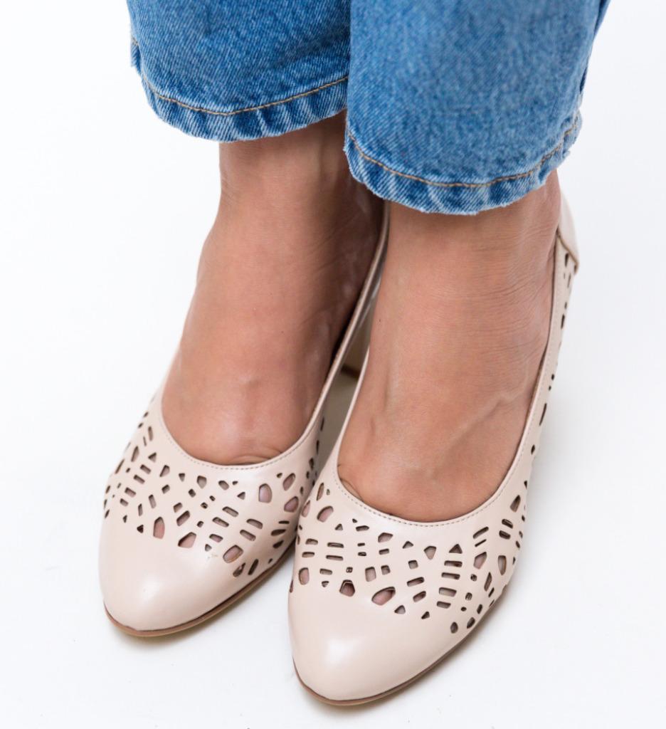 Pantofi Andy Nude