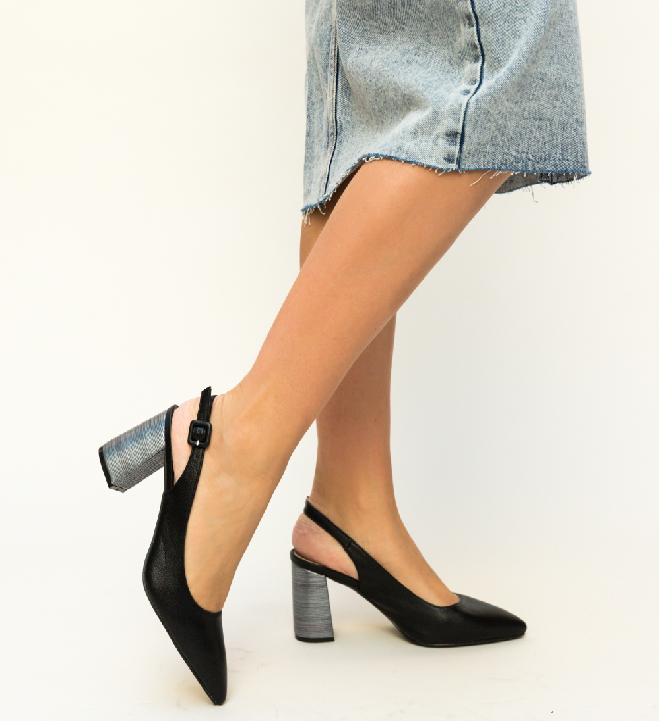 Pantofi Blane Negri
