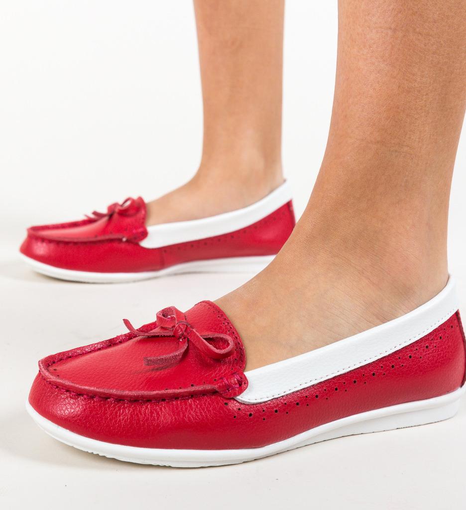Pantofi Bordo Rosii imagine