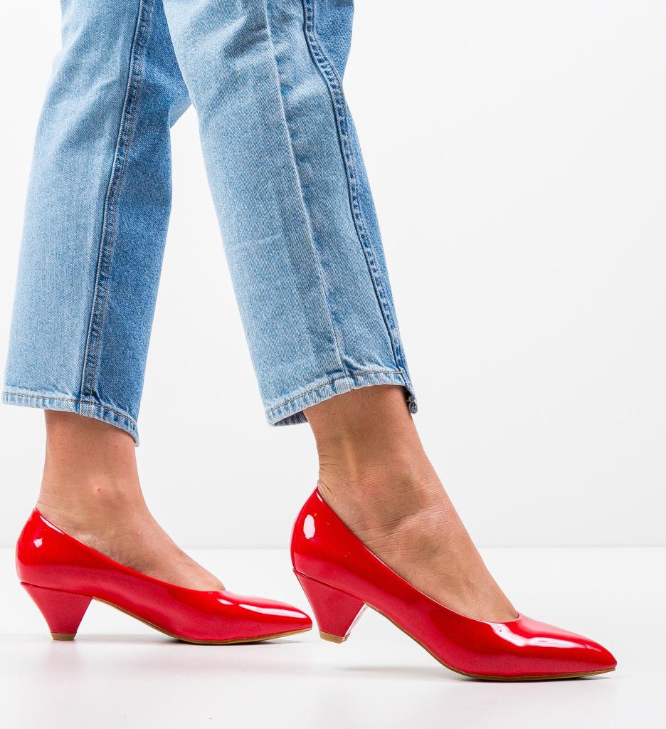 Pantofi Butt Rosii