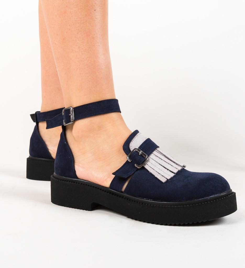 Pantofi Casual Athos Bleumarin imagine