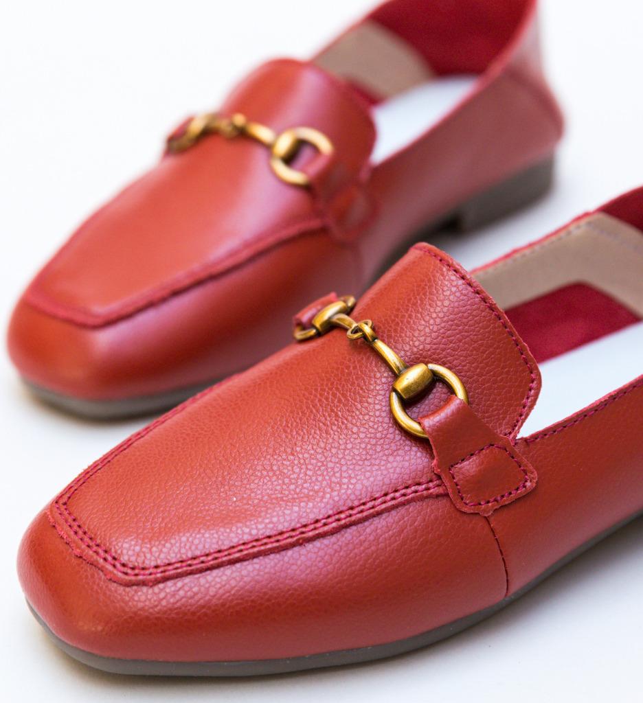Pantofi Casual Caracom Rosii