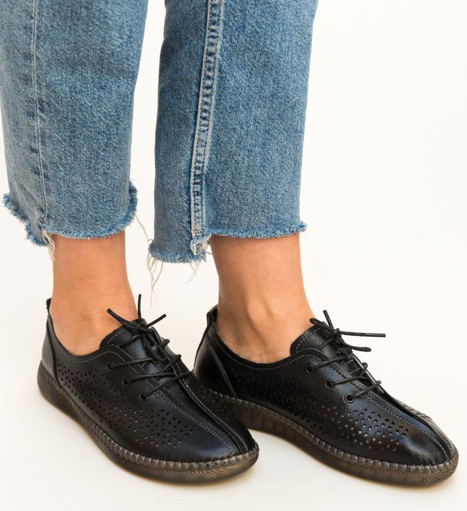 Pantofi Casual Crawler Negri