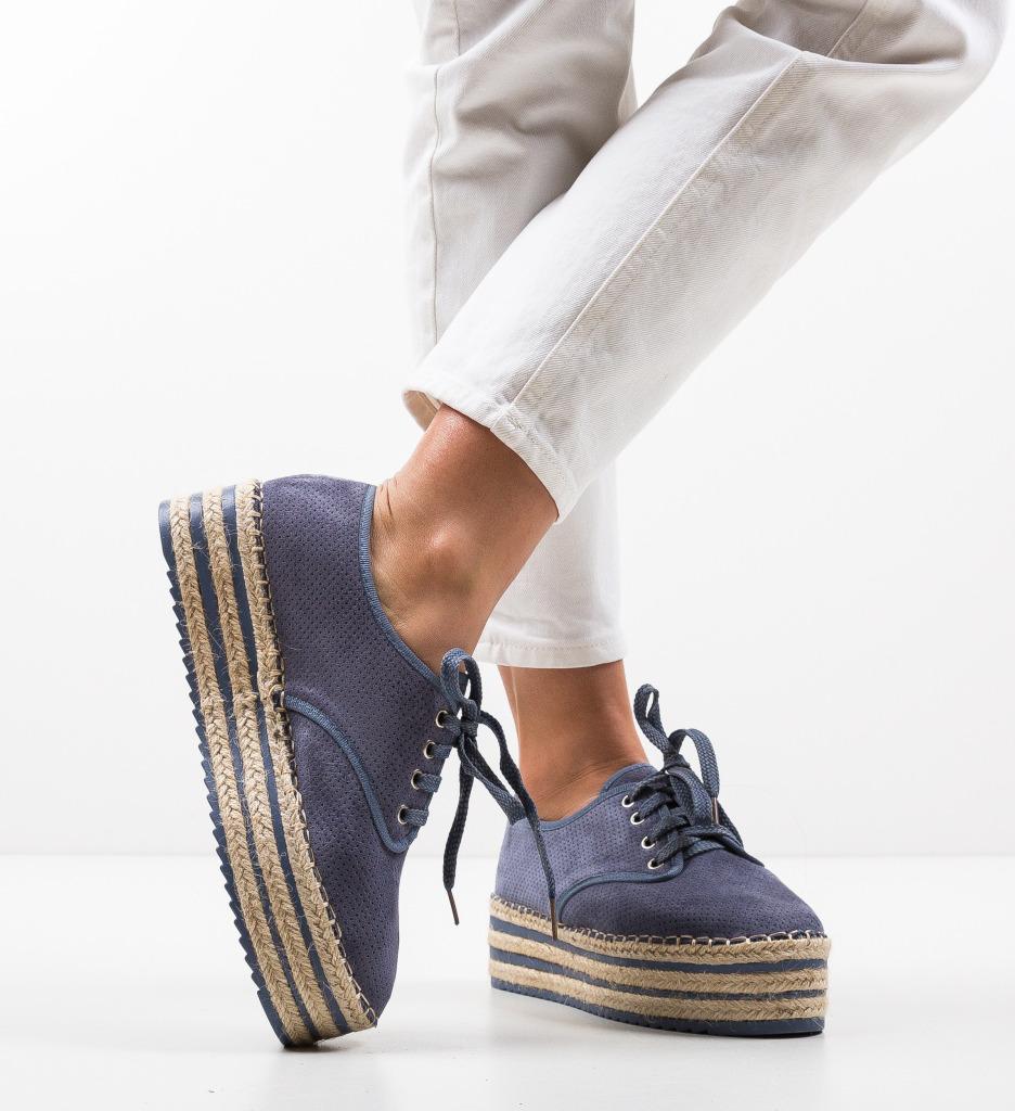 Pantofi Casual Jamelia Albastri
