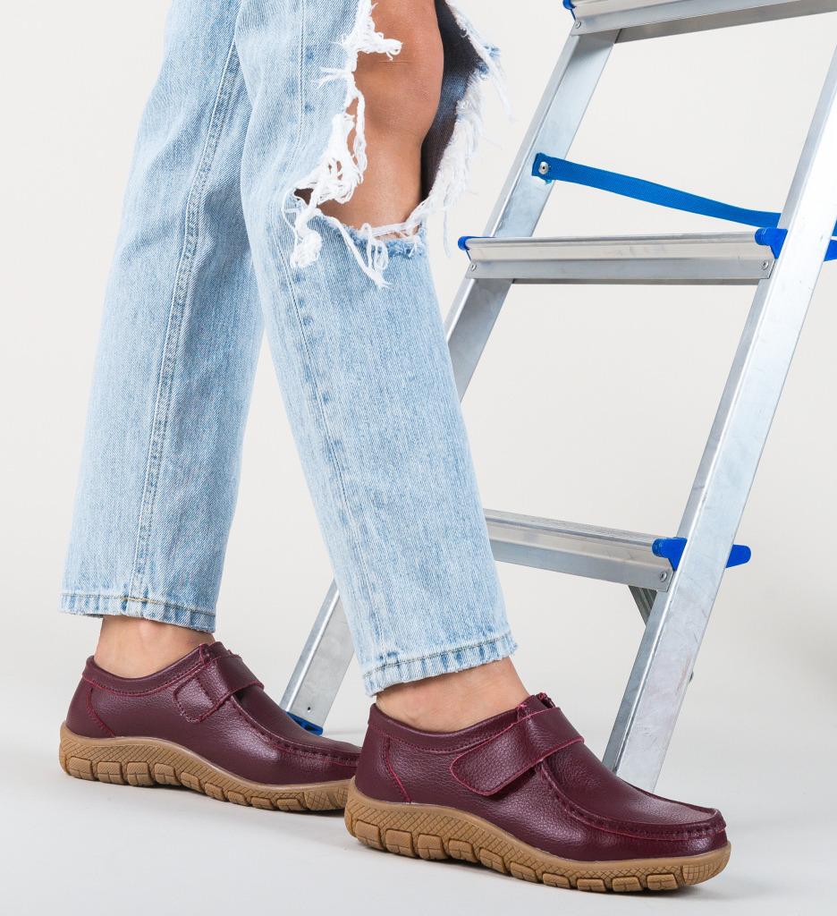 Pantofi Casual Kidd Grena imagine