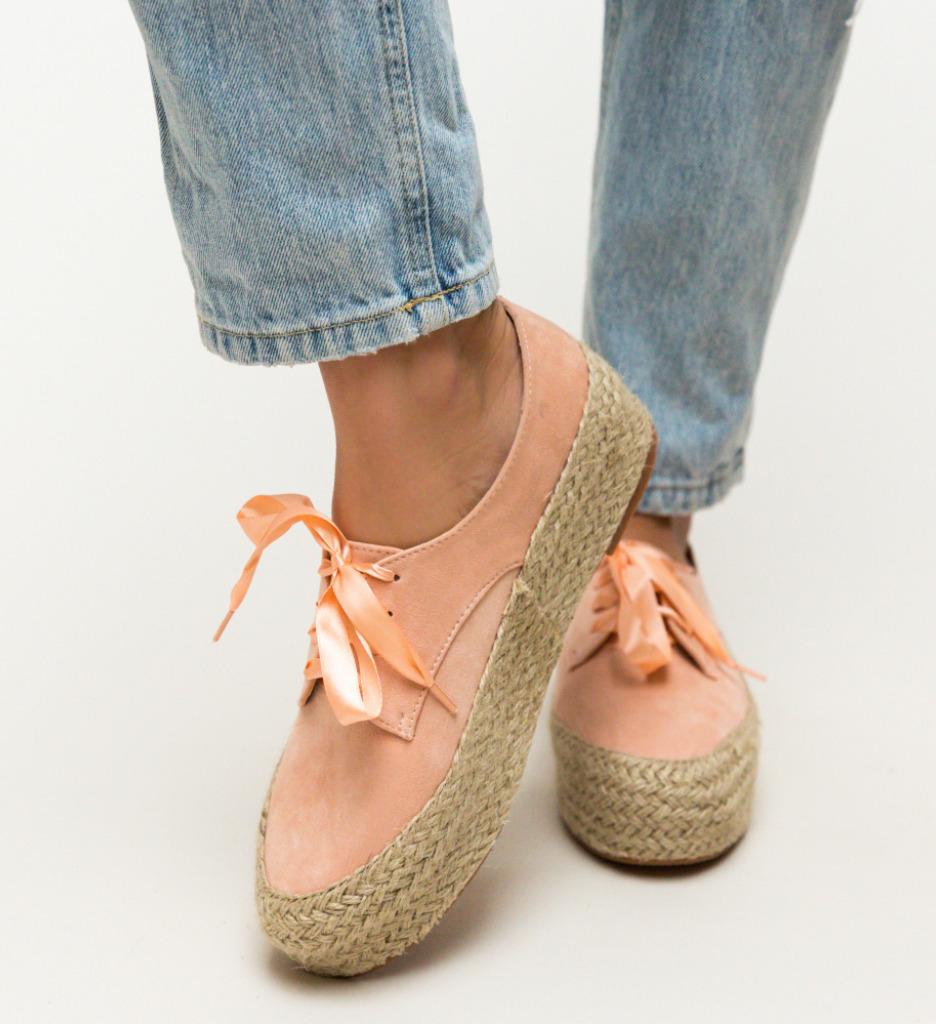 Pantofi Casual Kiran Roz