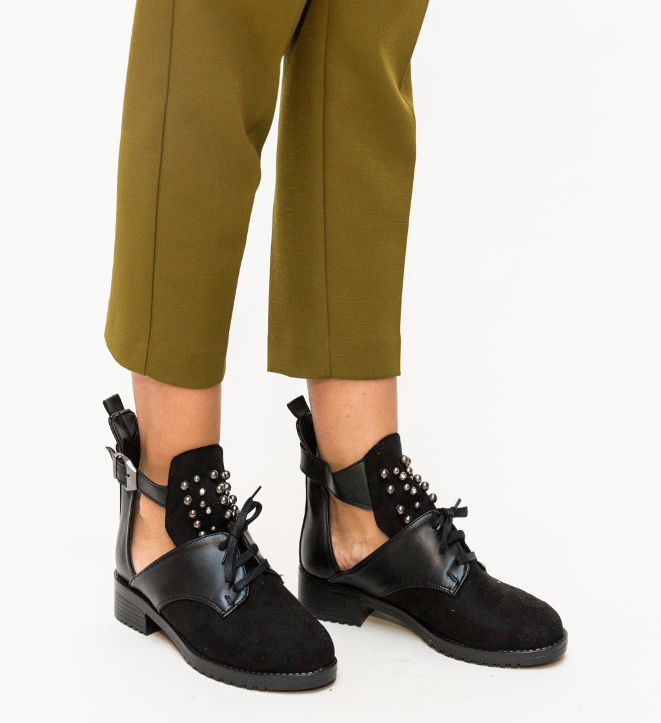 Pantofi Casual Luxor Negri