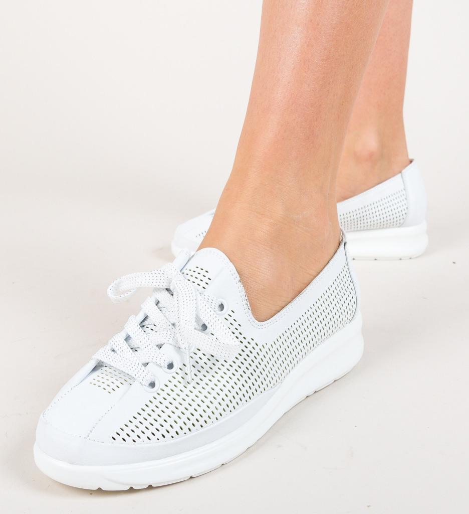 Pantofi Casual Mirino Albi