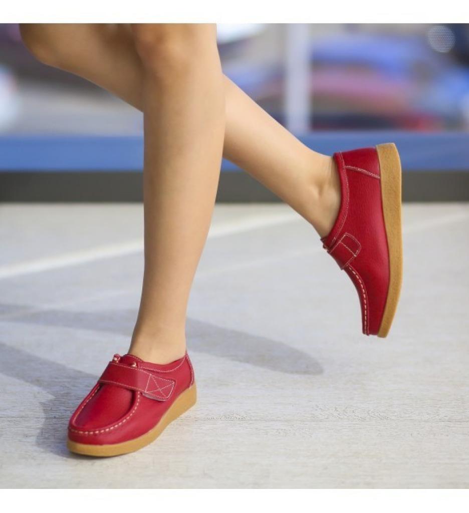 Pantofi Casual Monta Rosii