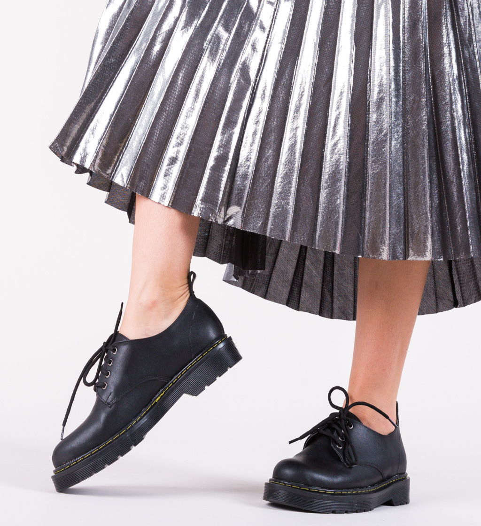 Pantofi Casual Night Negri imagine