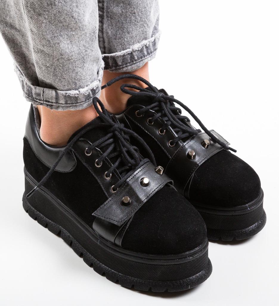 Pantofi Casual Niminigan Negri