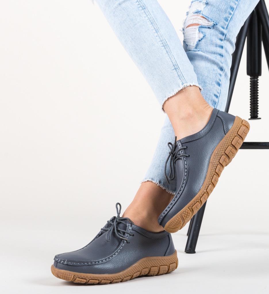 Pantofi Casual Pranav Gri