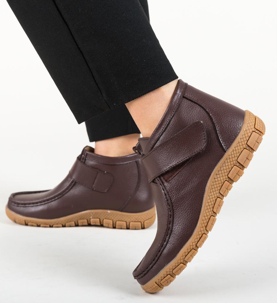 Pantofi Casual Santana Maro