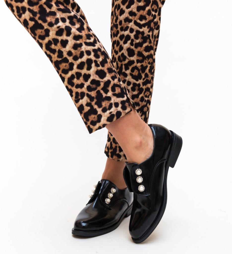Pantofi Casual Saxon Negri