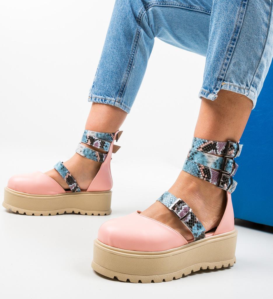 Pantofi Casual Sefma Roz