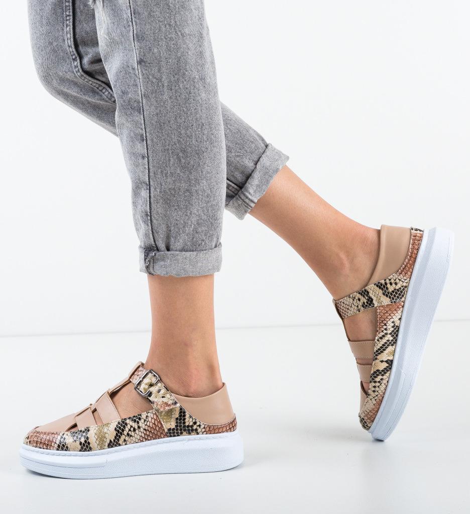 Pantofi Casual Sonicx Bej