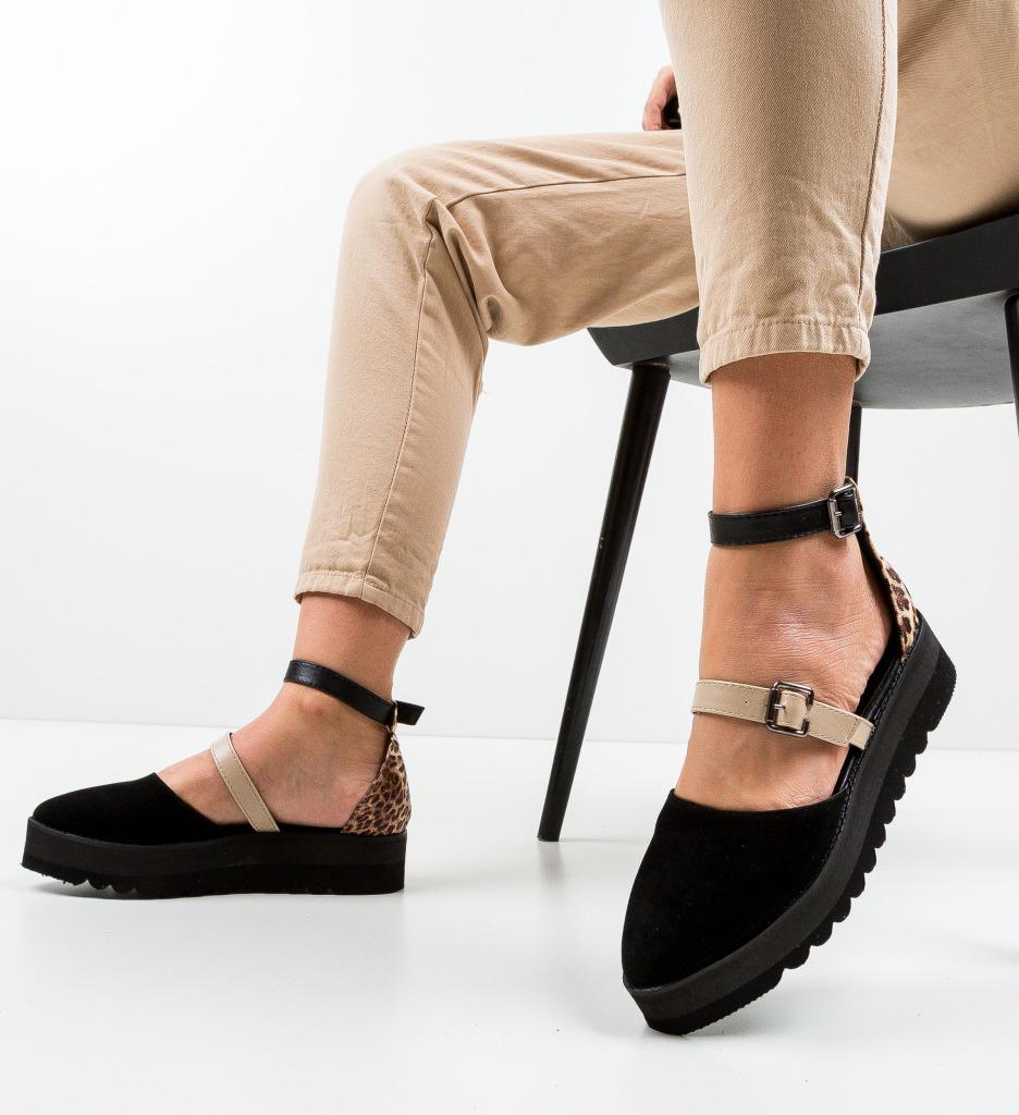 Pantofi Casual Tobaco Negre 2