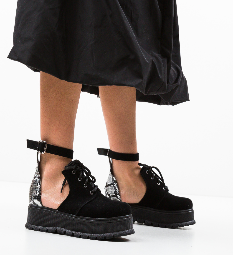 Pantofi Casual Vespas Negri 3